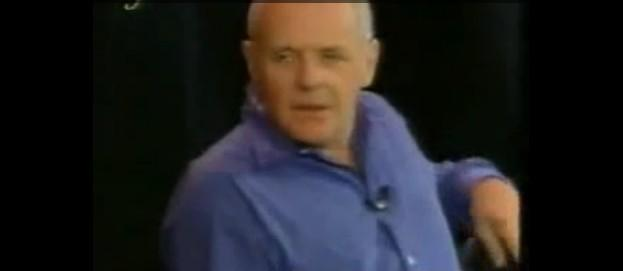 Anthony Hopkins on Inside the Actors Studio - http://www.daylightpeople.com