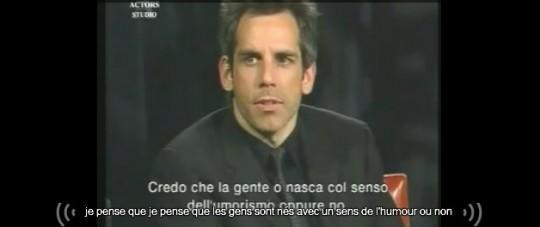 Daylightpeople.com Inside The Actors Studio - Ben Stiller