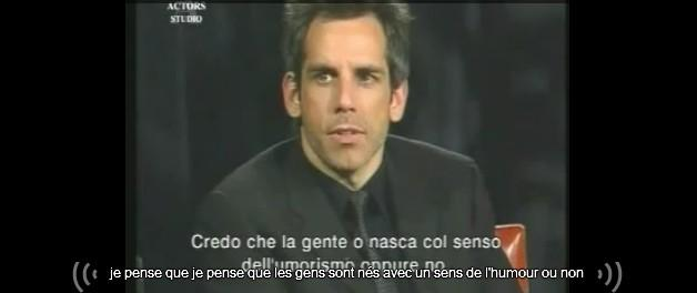 Ben Stiller on Inside the Actors Studio