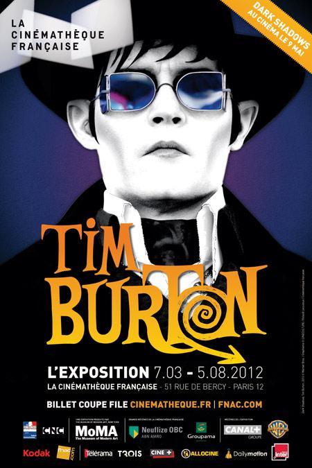 Daylightpeople.com Tim Burton s'expose à la Cinémathèque
