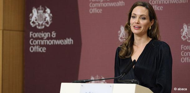 Angelina Jolie est présent au festival du film de Sarajevo
