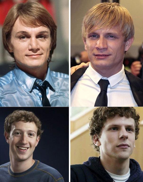 Les acteurs qui ne ressemblent pas au personnage réel du film biographique