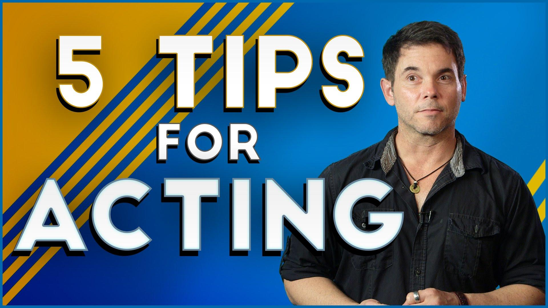 Daylightpeople.com 5 Tips For Acting