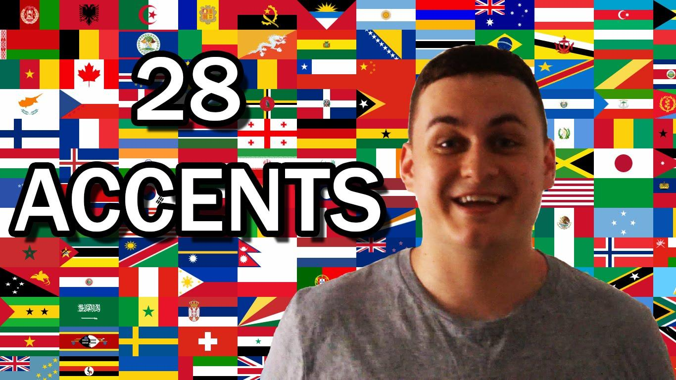 Daylightpeople.com 28 Different English Speaking Accents