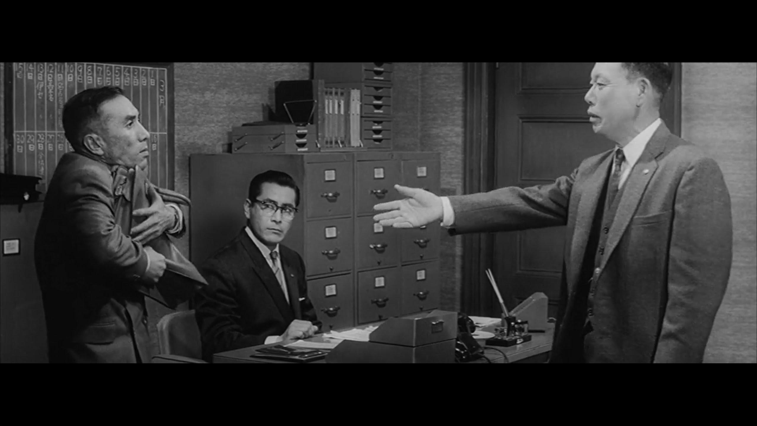 Daylightpeople.com The Bad Sleep Well (1960) - The Geometry of a Scene