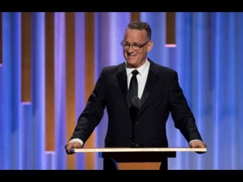 Daylightpeople.com Tom Hanks honors Marvin Levy at the 2018 Governors Awards
