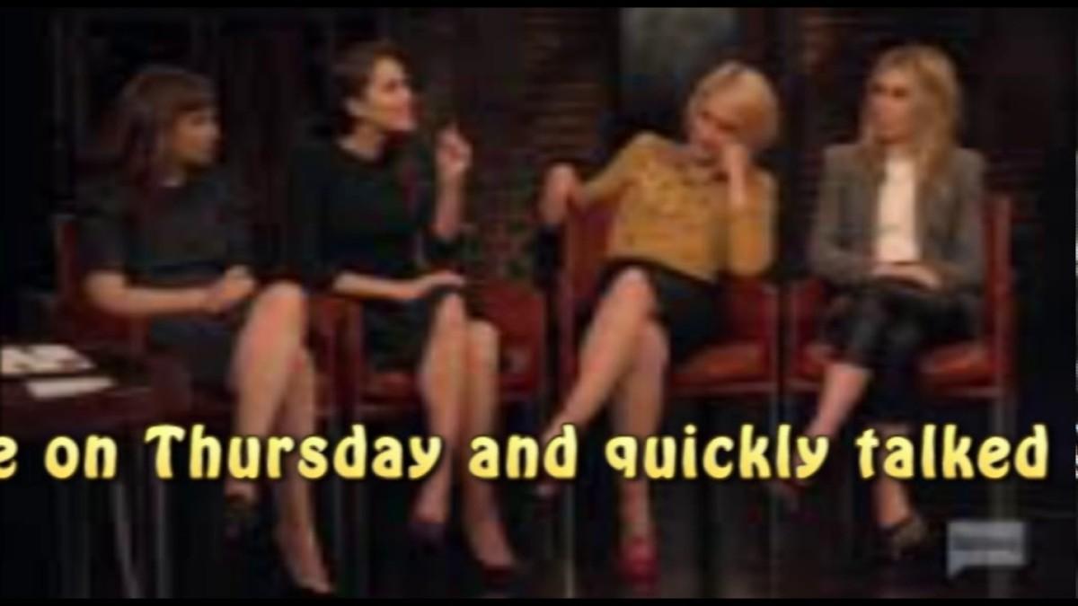 Daylightpeople.com 'Girls' Cast Reveals Secrets Behind Sex Scenes on 'Inside the Actors Studio'