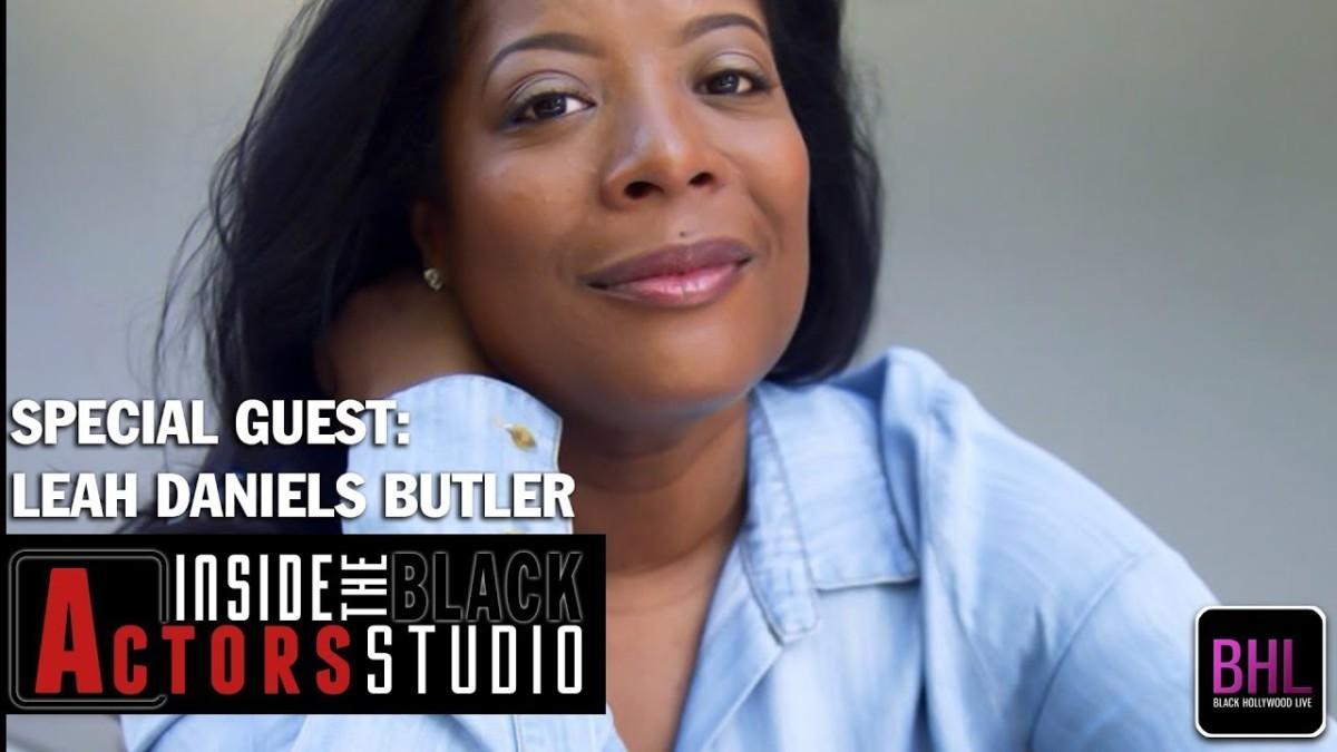 Daylightpeople.com Inside The Black Actor's Studio - Leah Daniels Butler