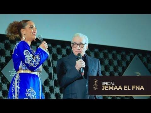 Daylightpeople.com Martin Scorsese à Jemaa El Fna pour la projection de Kundun