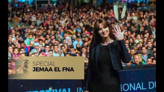Daylightpeople.com Monica Bellucci à Jemaa El Fna