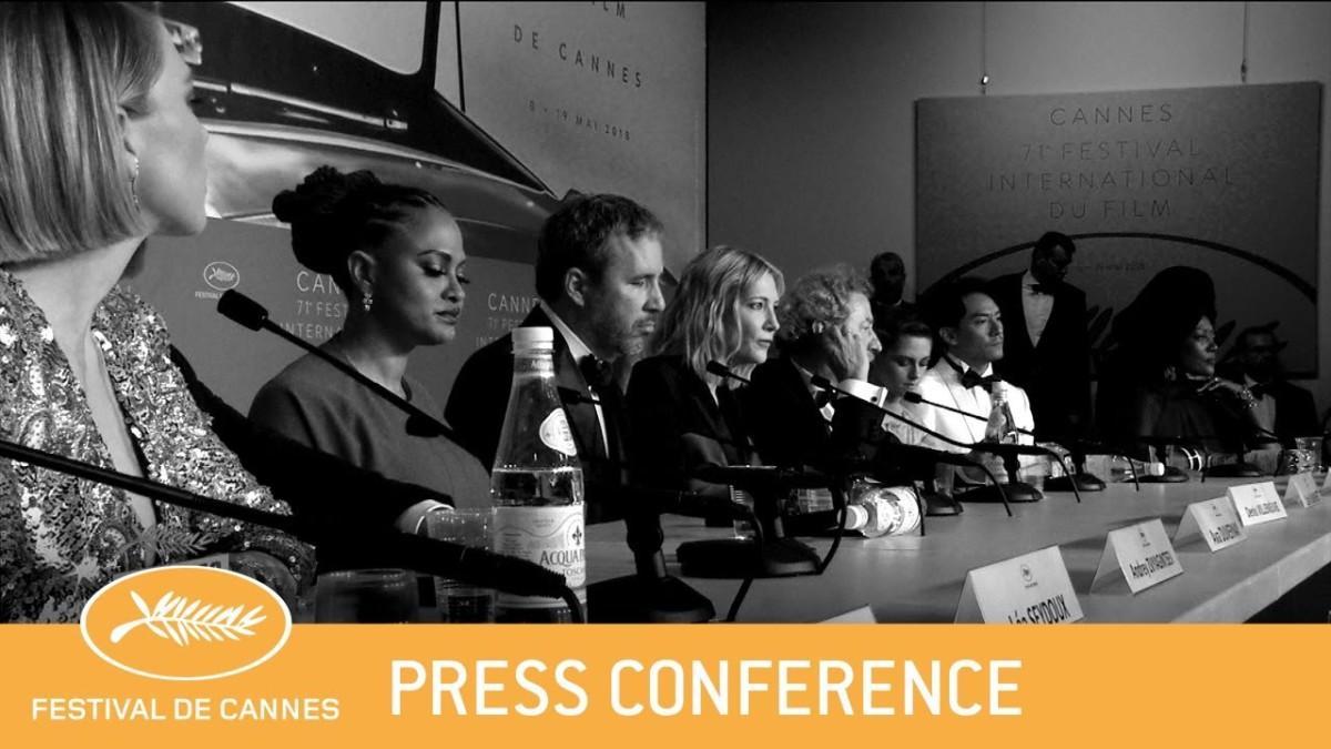 Daylightpeople.com JURY - Cannes 2018 - Press Conference clôture - EV