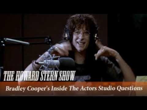 Daylightpeople.com Bradley Cooper's Inside The Actors Studio Questions   The Howard Stern Show