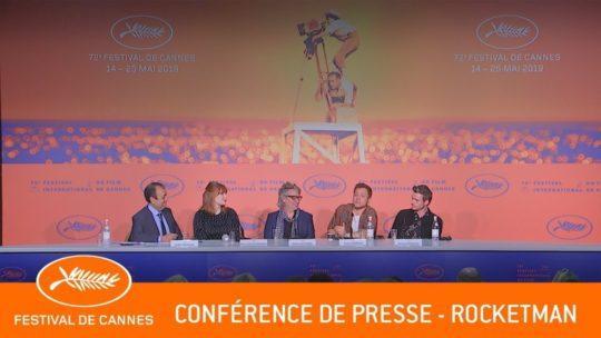 Daylightpeople.com ROCKETMAN - Conférence de presse - Cannes 2019 - VF