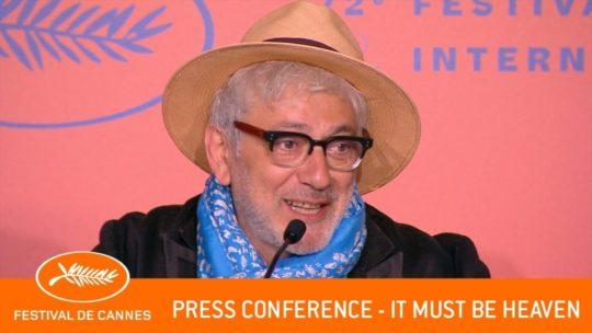Daylightpeople.com IT MUST BE HEAVEN - Press conference - Cannes 2019 - EV
