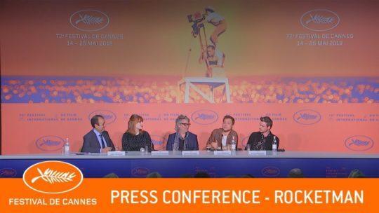 Daylightpeople.com ROCKETMAN - press conference - Cannes 2019 - EV