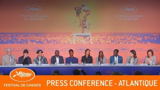 Daylightpeople.com ATLANTIQUE - Press conference - Cannes 2019 - EV