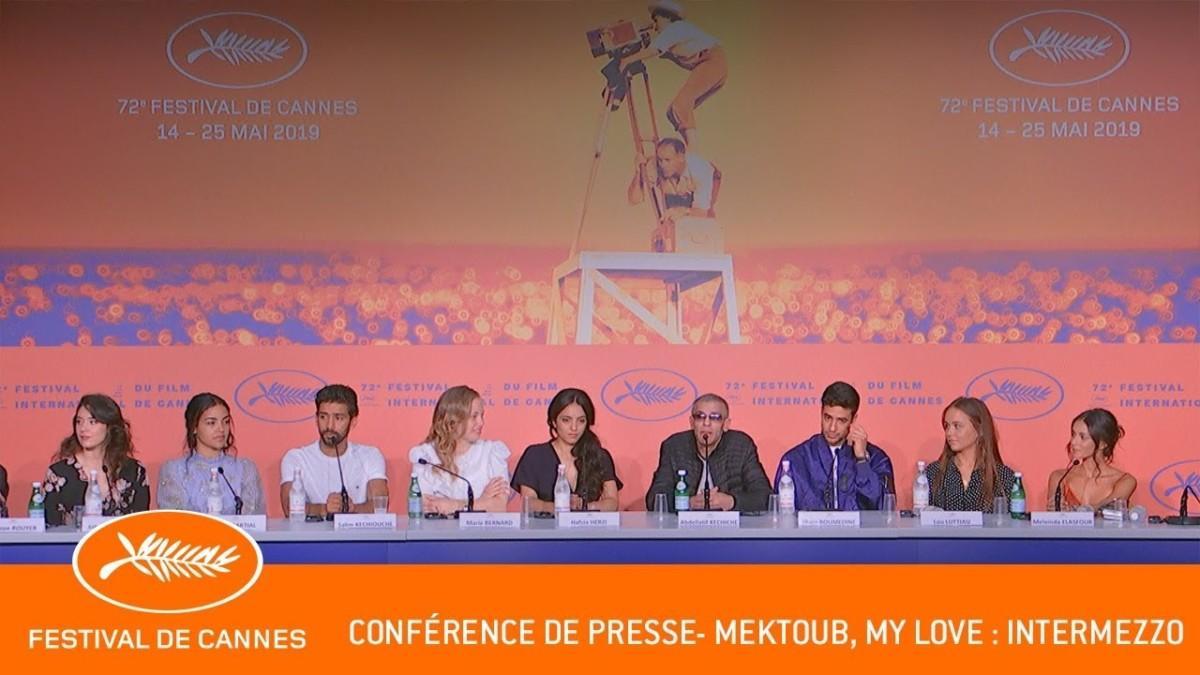 Daylightpeople.com MEKTOUB MY LOVE INTERMEZZO - Conference de presse - Cannes 2019 - VF