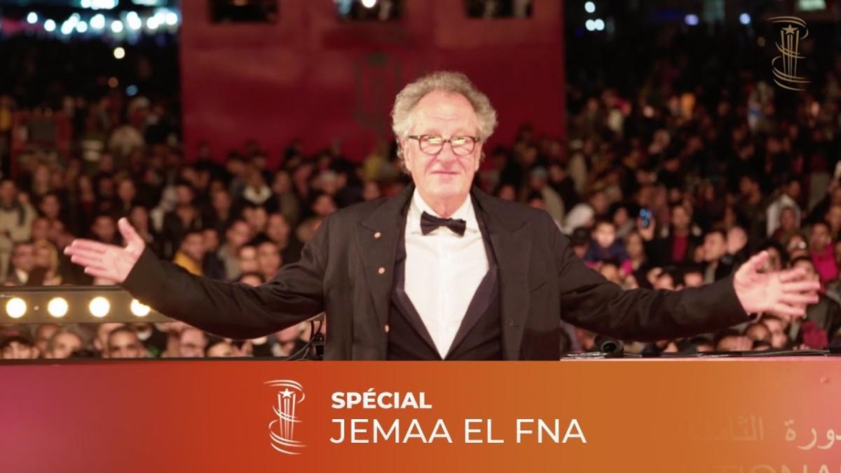 Daylightpeople.com Geoffrey Rush à la Place Jemaa El Fna