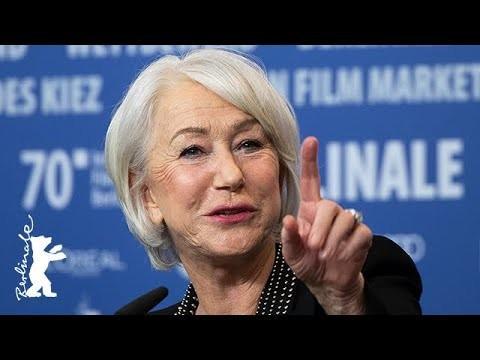 Daylightpeople.com Helen Mirren has a special way to read scripts... | Berlinale 2020