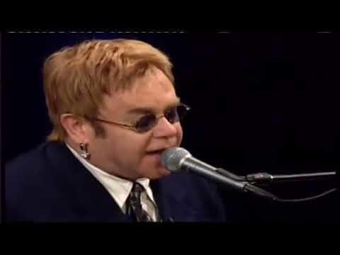 """Daylightpeople.com Elton John sings """"Daniel"""" for a fan on Inside the Actors Studio"""