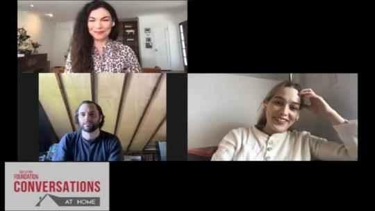Daylightpeople.com Conversations at Home with Penn Badgley, Victoria Pedretti & Sera Gamble of YOU