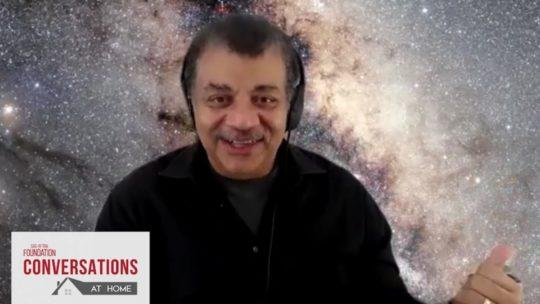Daylightpeople.com Conversations at Home with Neil deGrasse Tyson and Ann Druyan of COSMOS: POSSIBLE WORLDS