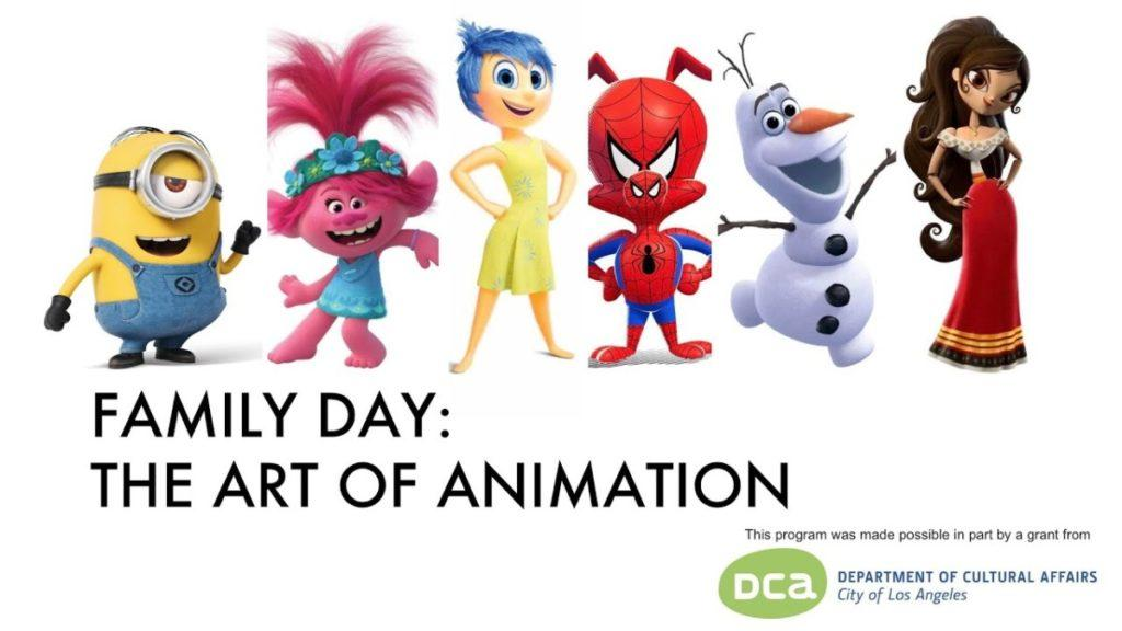 Daylightpeople.com Family Day: The Art of Animation
