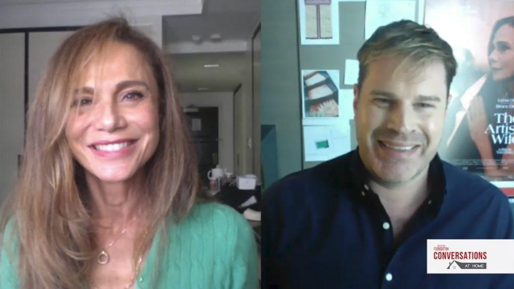 Daylightpeople.com Conversations at Home with Lena Olin and Tom Dolby of THE ARTIST'S WIFE
