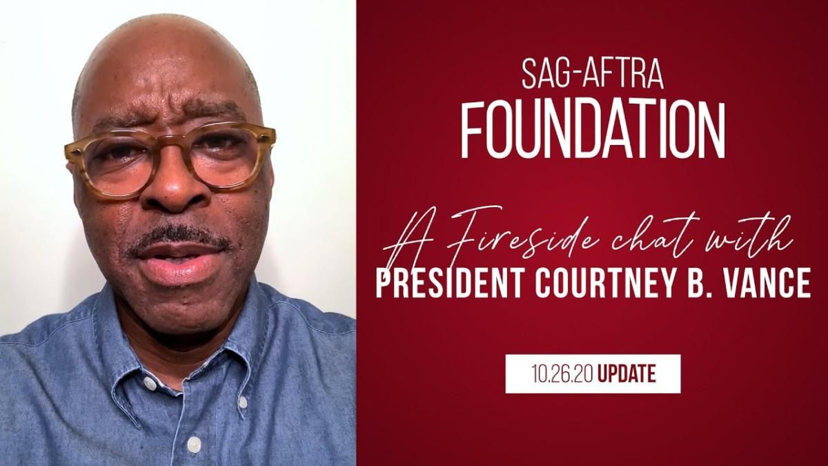 Daylightpeople.com Monthly Fireside Chat with Foundation President Courtney B. Vance 10/26/20