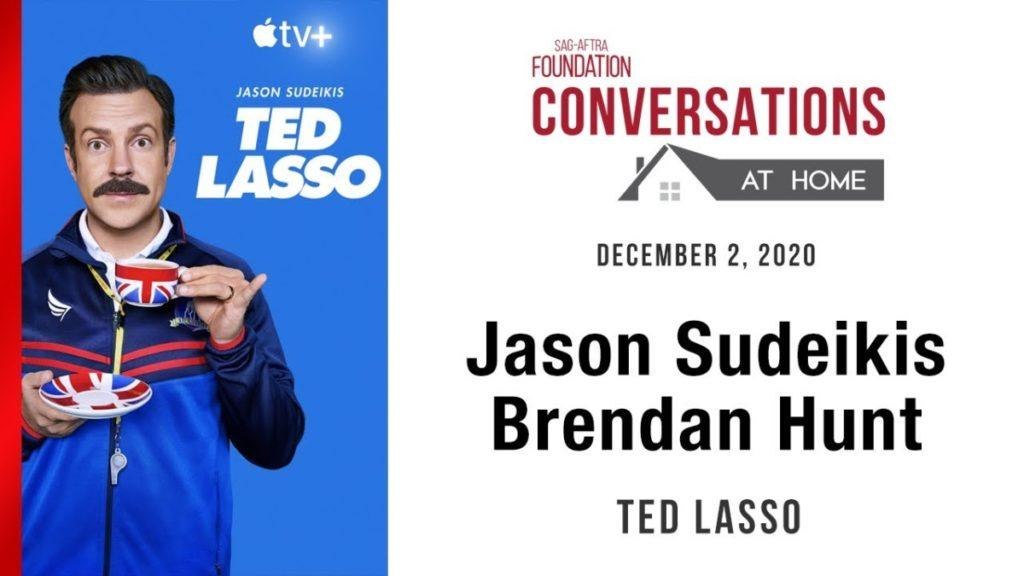 Daylightpeople.com Conversations at Home LIVE with Jason Sudeikis and Brendan Hunt of TED LASSO