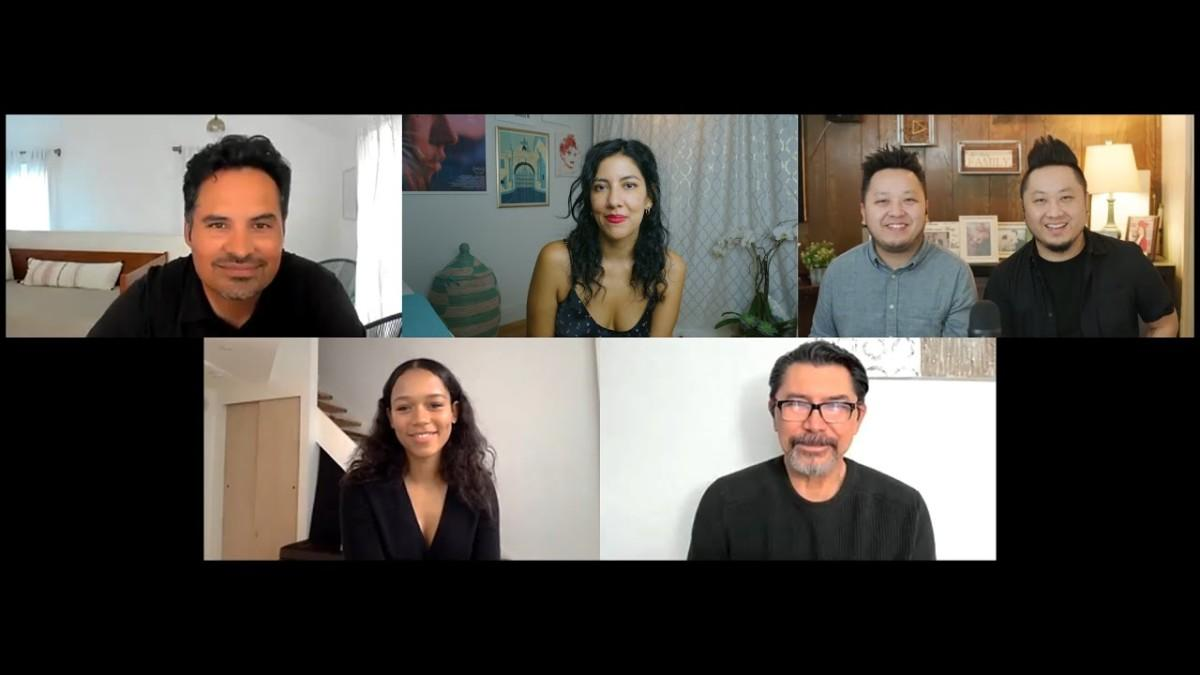 Daylightpeople.com 2020 Nicholl | Moments from a Zoom Table Read